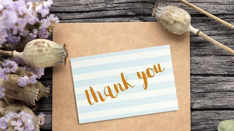 Juvale Thank You Cards