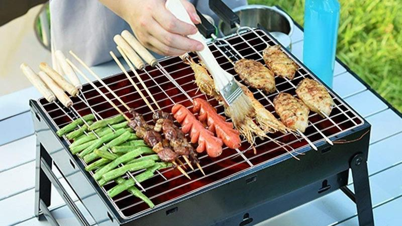 KESS Barbeque Portable Charcoal Grill