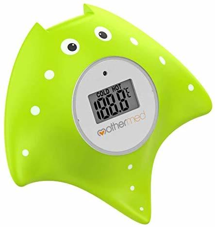 Accurate Temperature Gauge BPA Free Dreambaby Room /& Bath Thermometer Turtle