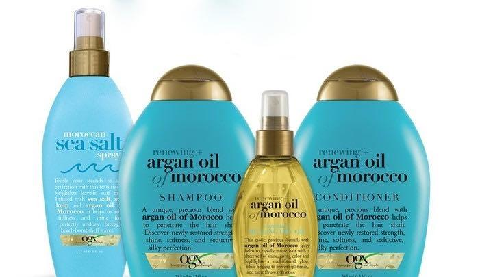 OGX moroccan sea salt spray