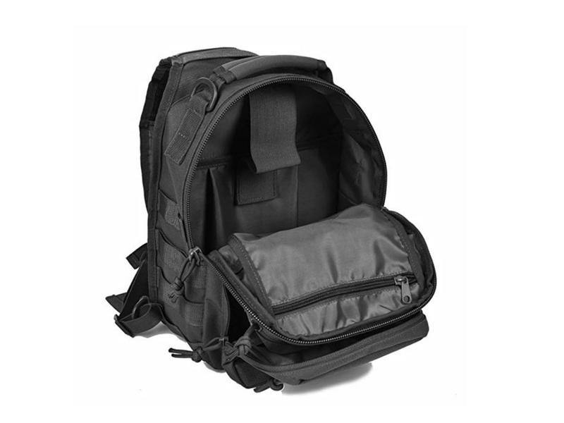 REEBOW GEAR tactical sling backpack lifestyle