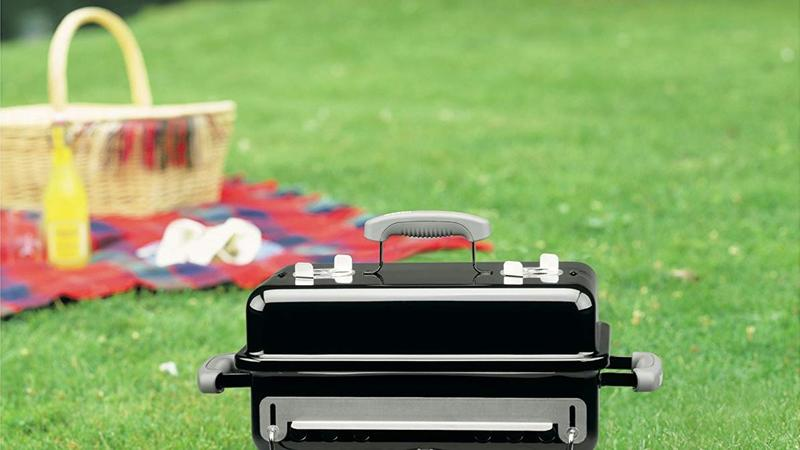 Weber Go-Anywhere Charcoal Grill lifestyle