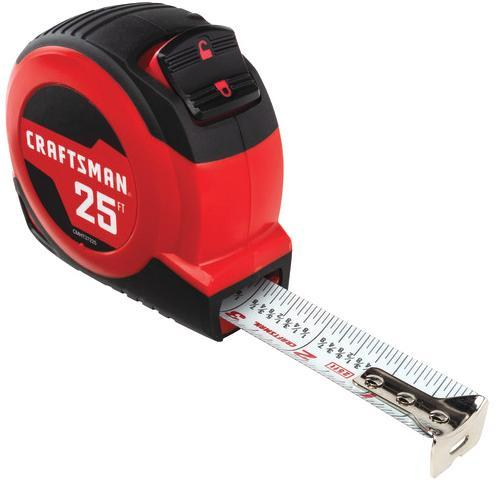 Get quick and accurate measurements with the best tape measures - craftsman tape measure