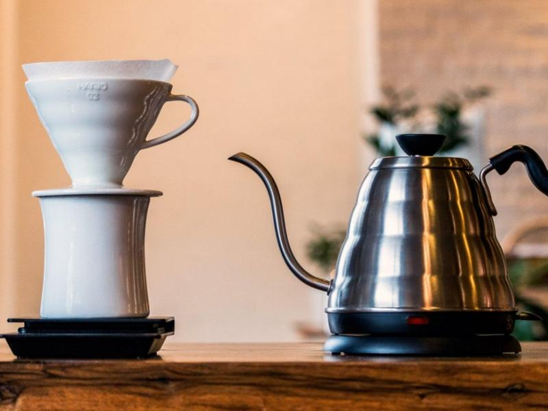 Hario pour over coffee lifestyle