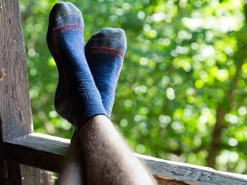 Your feet will stay warm and dry with these hiking socks