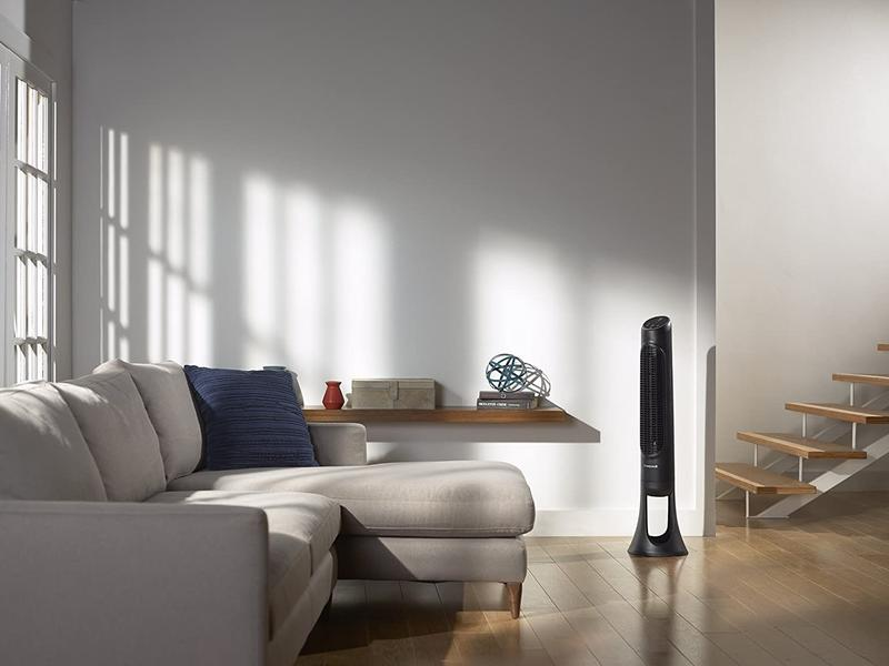 Homenywell Quietset Tower Fan Lifestyle