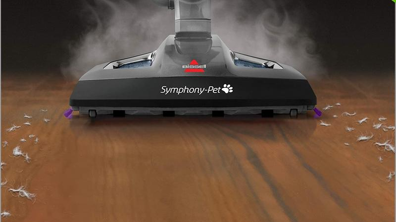 Bissell Symphony Pet Steam Mop Lifestyle