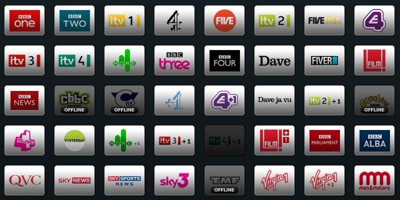 TVCatchup Channels