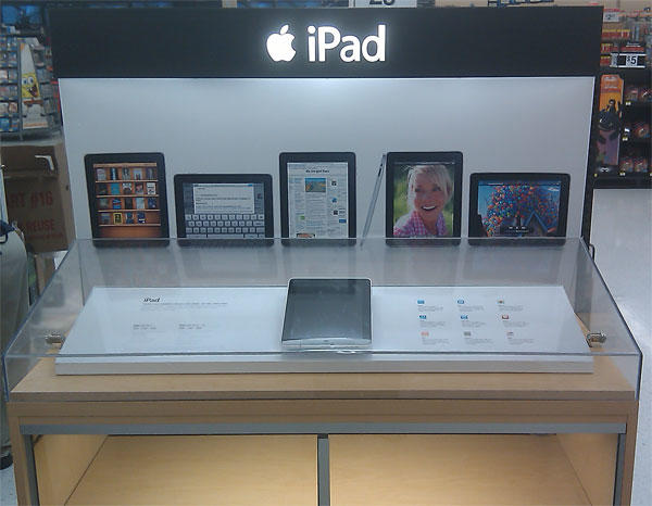 Walmart iPad Display
