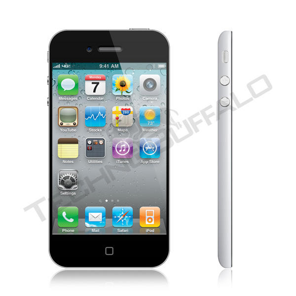 iPhone 5 Black (Front and Side)