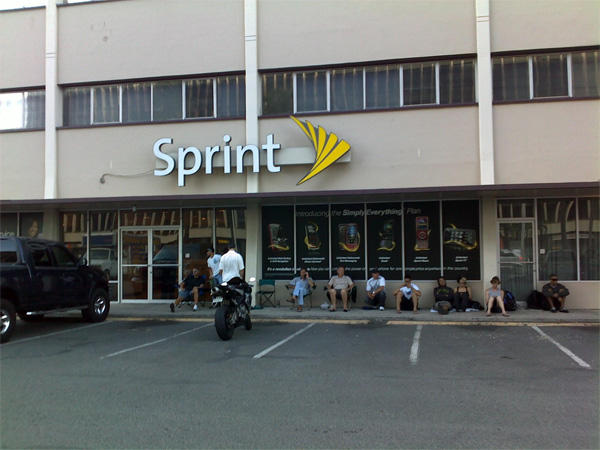 Sprint Store Outside