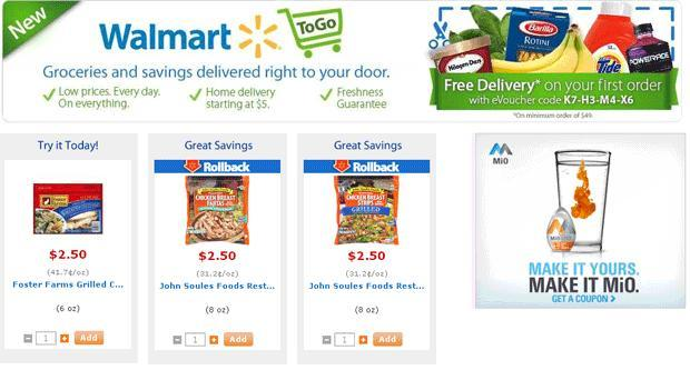 Walmart To Go screenshot