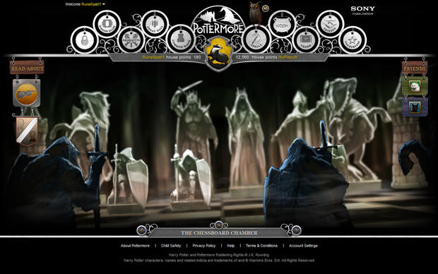 Pottermore - Wizard's Chess room