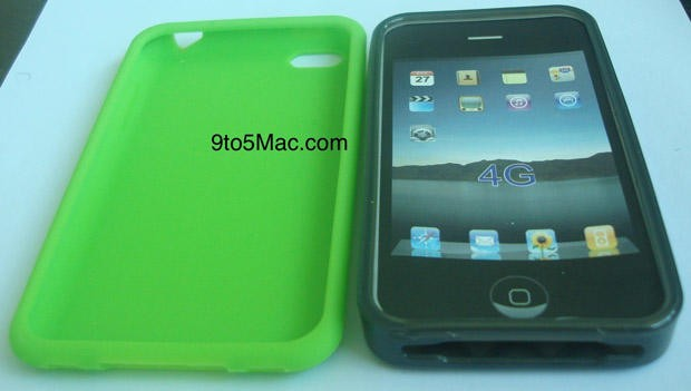 green silicone iPhone 5 case