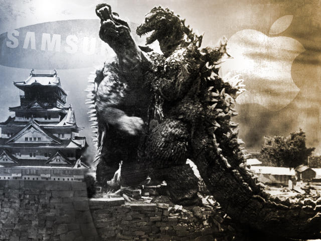 Godzilla - Apple vs Samsung