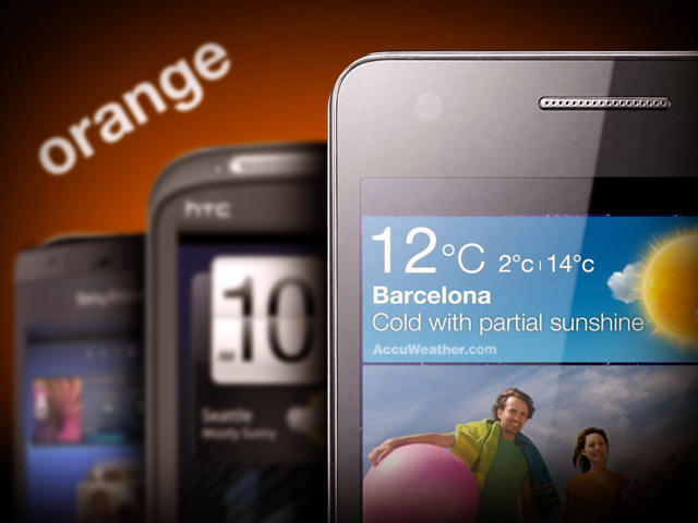 Top 5 Orange Phones Heading