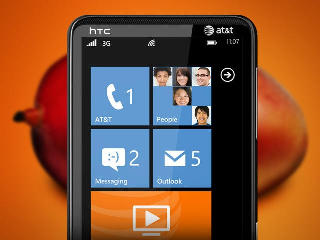 Windows Phone 7 Mango - HTC HD7s 2