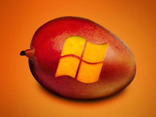 Windows Phone 7 Mango Orange Logo