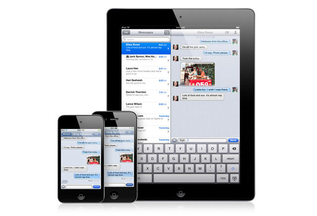 iOS 5 - Official - iMessage