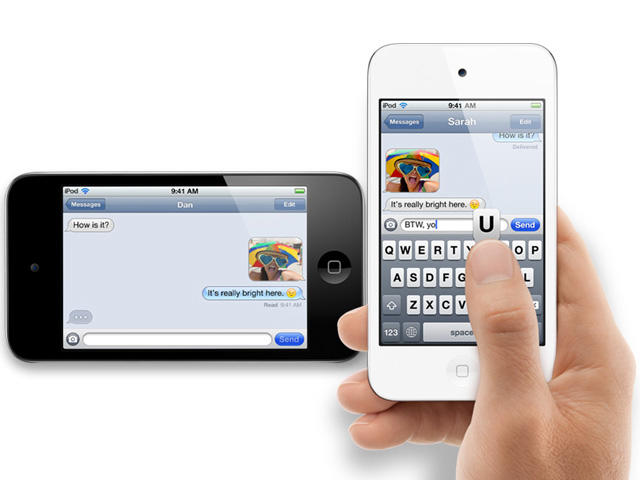iOS 5 - Official - iPod Touch - iMessage