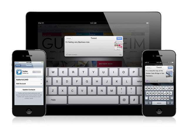 iOS 5 - Official - Twitter