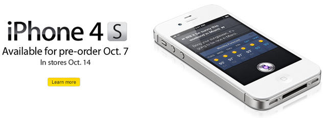 iPhone 4S Sprint preorders