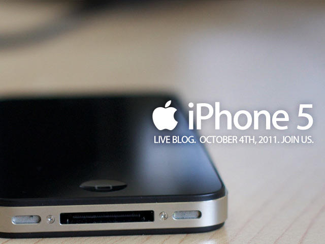 iPhone 5 Live Blog - Join Us Promo