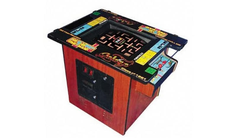 Ms. Pacman Table