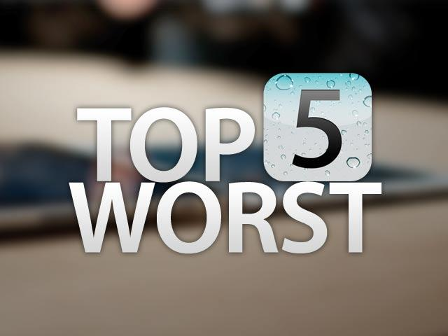 Top 5 Worst iOS 5 Features