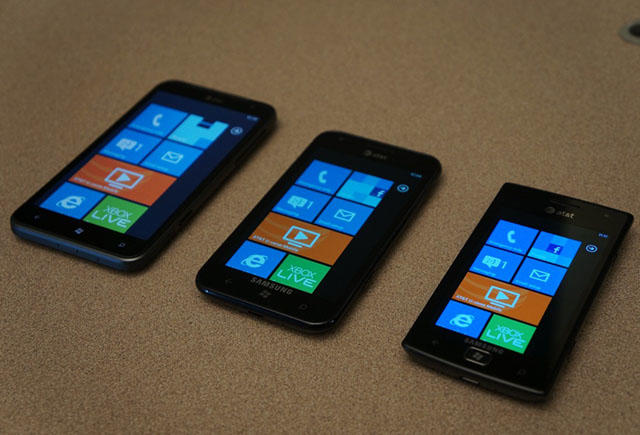 Windows Phone handsets for AT&T