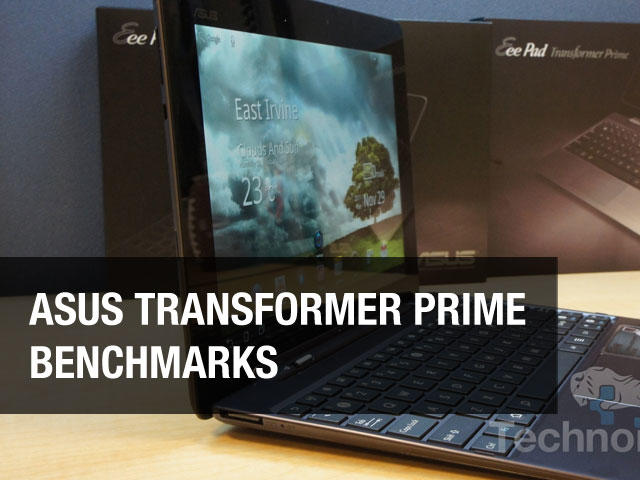 Asus Eee Pad Transformer Prime Benchmarks