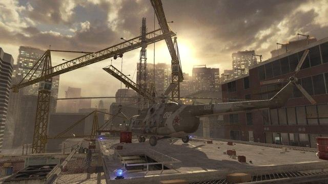 Highrise map from MW2