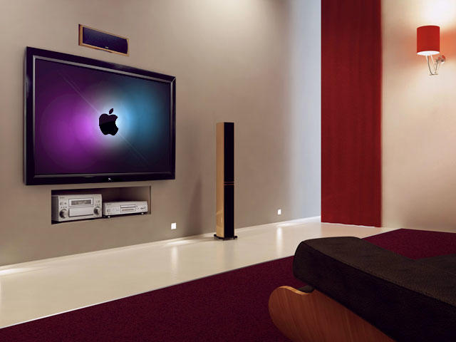 Apple TV Living Room Full