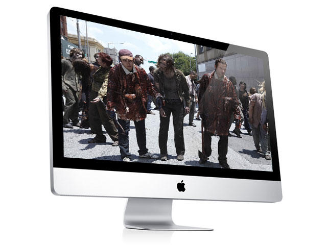 iMac TV - Walking Dead