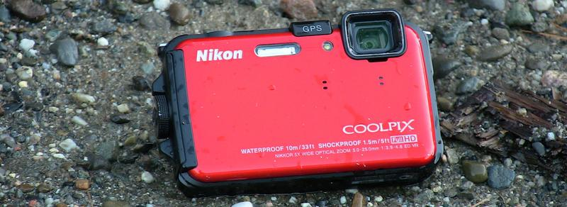 Nikon Coolpix AW100 Front Wide