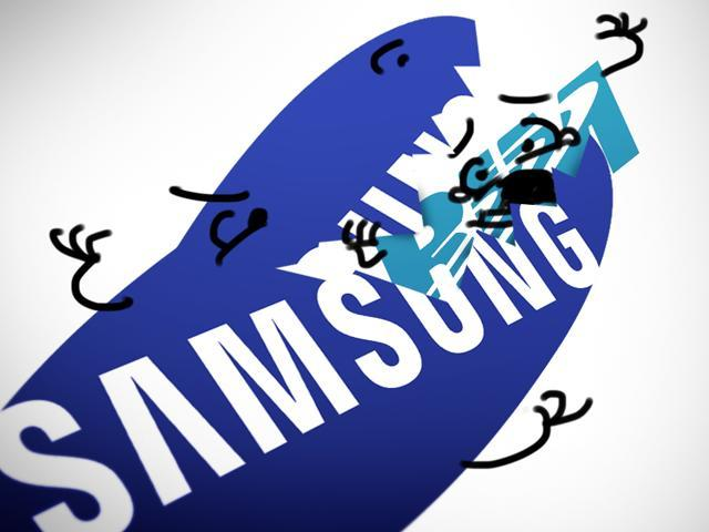 Samsung Swallows RIM