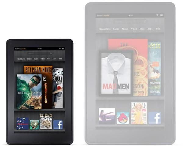 Kindle Fire 10-inch screen