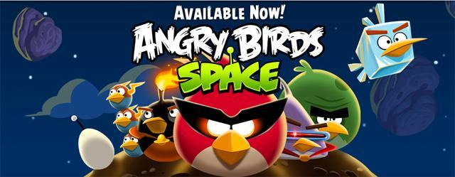 Angry Birds Space - Available Now