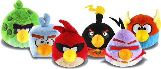 Angry Birds Space plush