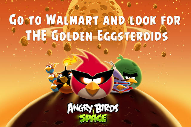Angry Birds Space at Walmart