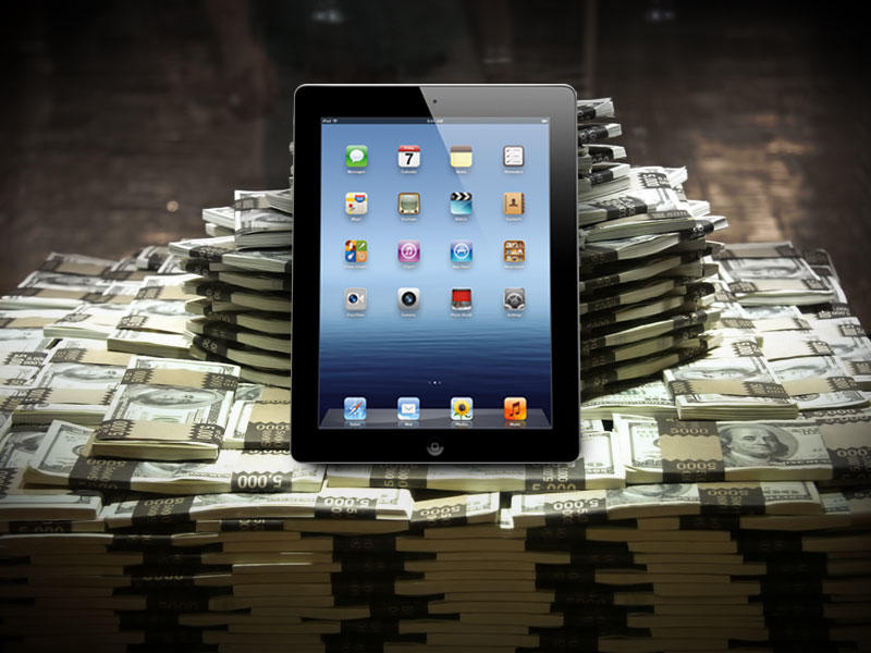 Apple Money - iPad