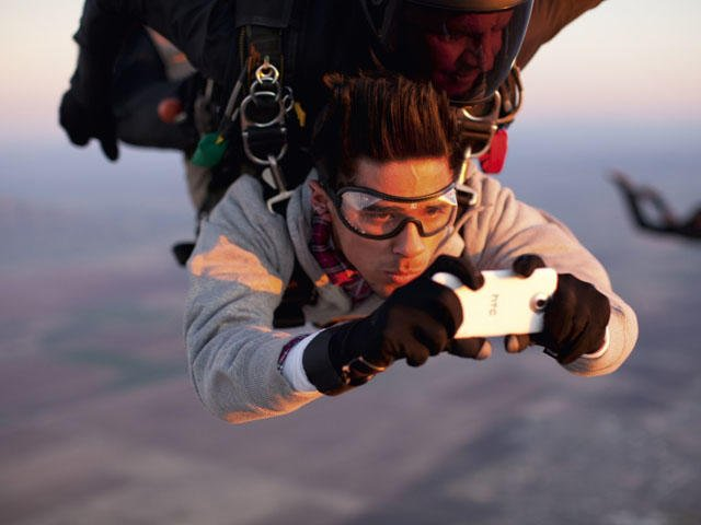 HTC Skydiving ad