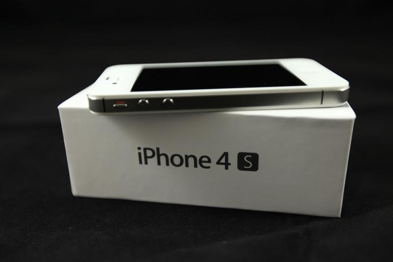 iPhone 4S on top of box angled 8