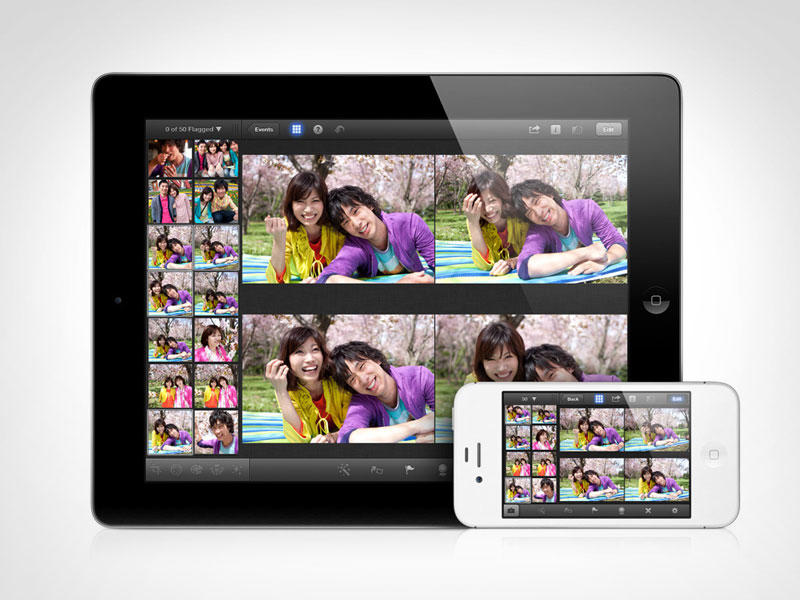 iPhoto - New iPad and iPhone