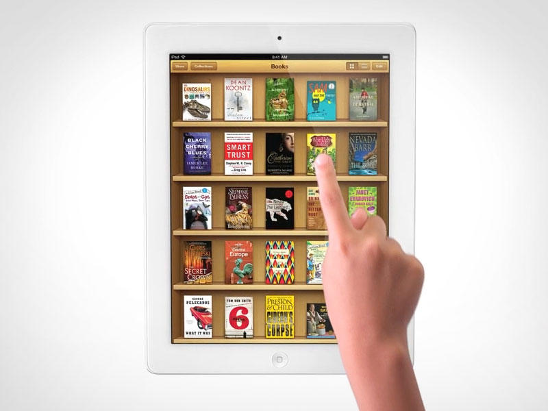 New iPad - Books - Touch