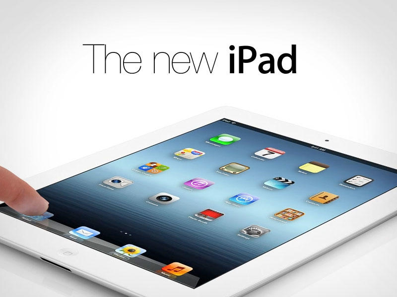 New iPad - With Logo