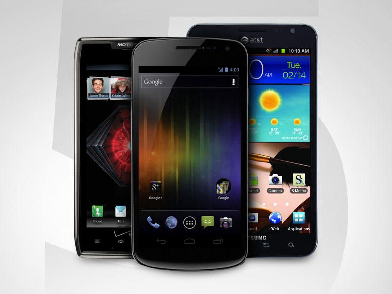 Top 5 Android Phones