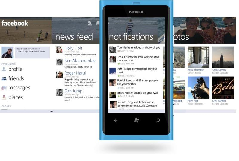 Facebook for Windows Phone large