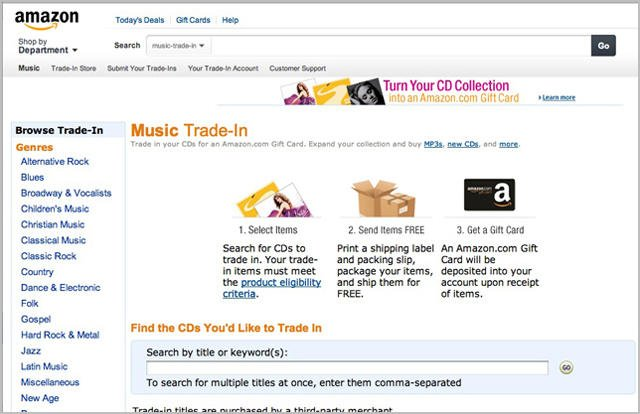 Blow Those Dust Bunnies Off: Amazon Trade-In Now Takes Your