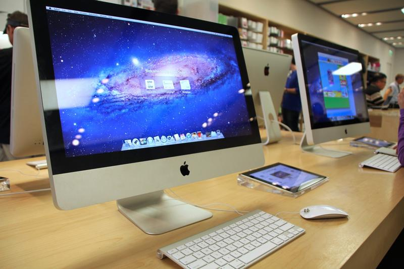 Apple Store iMac Table